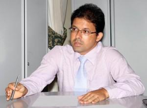 O secretário municipal de Administração, Ricardo Machao, presidirá a comissão do parque industrial. Foto Secom Ilheus