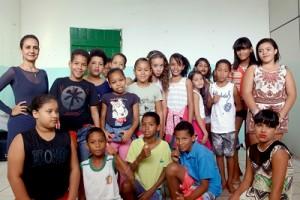 Turma de Dança Escola Odete Salmo.