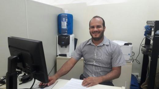 Érico Fontes, coordenador do SineBahia em Ilhéus.