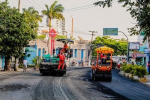 Asfalto Legal na Rua Visconde de Mauá. Foto - Rodrigo Macedo-2