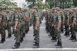 reg. 143-17  Comando Militar do Sudeste no dia do Exército. 2017/04/19 Foto: Marcos Santos/USP Imagens