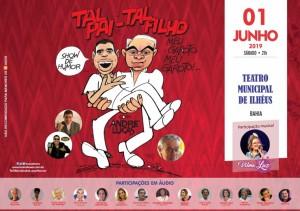 Em Ilhéus, acontece sábado, primeiro de junho, às 9 h da noite, com a produção de Chico Correa, que, juntamente ao artista, cedeu, excepcional e generososamente, um espaço a cantora Vilma Luz.