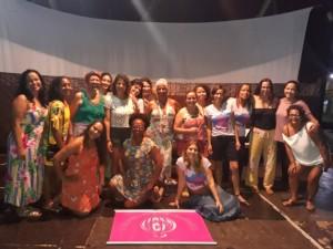 Encontro durante a roda de mulheres, no último sábado (25), na Tenda do Teatro Popular de Ilhéus.